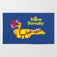 Yellow Serenity Rug