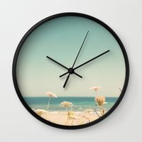 Water And Lace Wall Clock