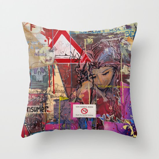 You Can't Miss the Bear Throw Pillow