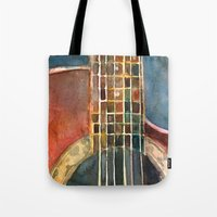 Ovation Accoustic Guitar  Tote Bag