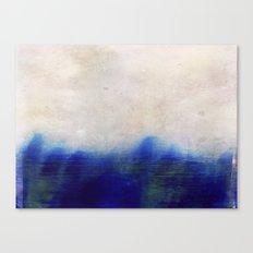 blue blur Canvas Print