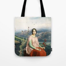Lady of the Fields Tote Bag