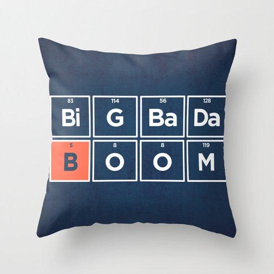 Boron Throw Pillow