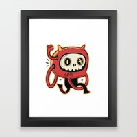 Dead Man Runner  Framed Art Print