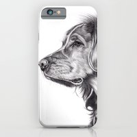 iPhone & iPod Case featuring Retriever by Beth Thompson