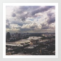 London Above Art Print