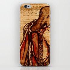 Othello - Shakespeare Folio Illustration by Immortallongings iPhone & iPod Skin