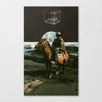 Space Cowboys Canvas Print
