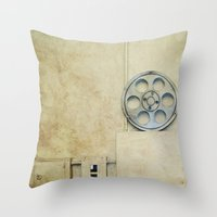 the palace. Throw Pillow