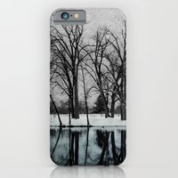 iPhone & iPod Case featuring Winter in the Park by Susan Weller