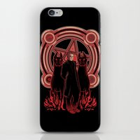 Hells King iPhone & iPod Skin