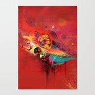 Uncaged Canvas Print