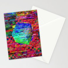 Glitch Cubed no.2 Stationery Cards