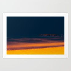 Into The Electric Night Art Print