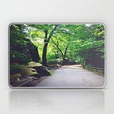 A Woodland Path Laptop & iPad Skin