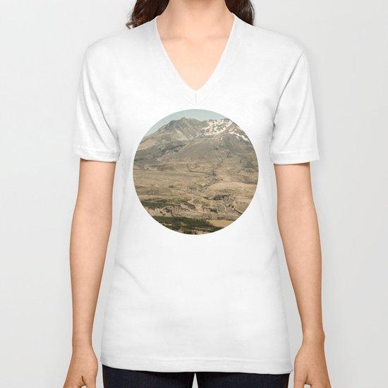 Mount Saint Helens V-neck T-shirt