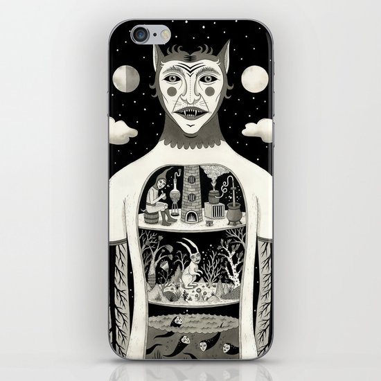 Under Skin iPhone & iPod Skin