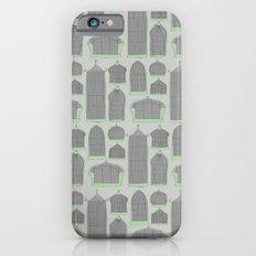 Birdcages (Gray) iPhone 6s Slim Case