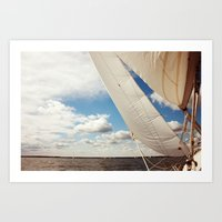 Out on the Chesapeake Art Print