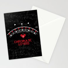 Chromatic Lovers Stationery Cards