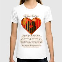 LOVE MY PERFECT PRISON  - 020 Womens Fitted Tee White SMALL