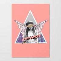 Wild Child Canvas Print
