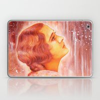 Heading for a fall (Vintage Portrait) Laptop & iPad Skin