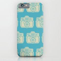 I Still Shoot Film Holga Logo - Turquoise/Tan Slim Case iPhone 6s