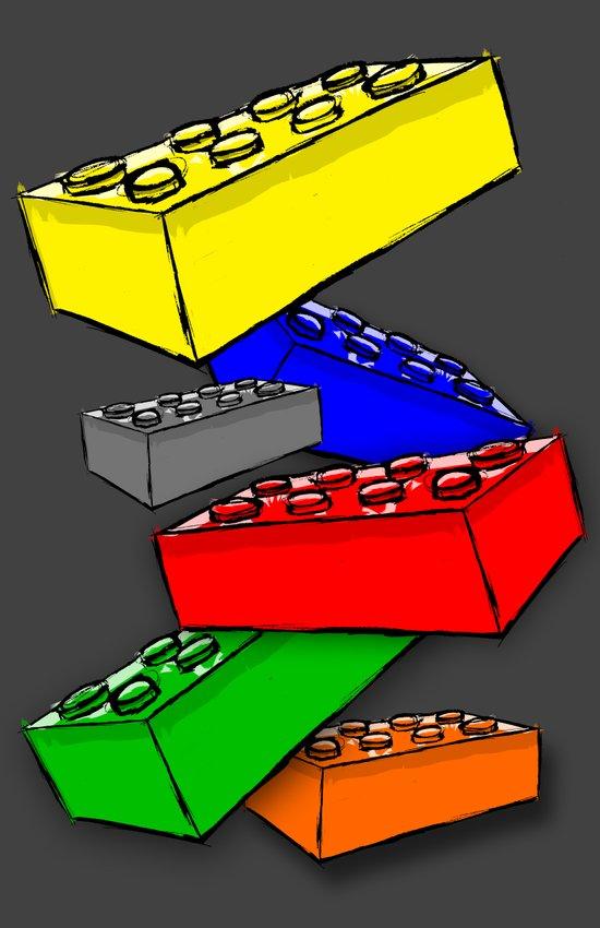 The Building Blocks of Life Art Print