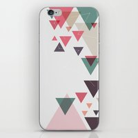 Triângulos ligados iPhone & iPod Skin