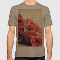 A Dozen Roses Please Mens Fitted Tee Tri-Coffee SMALL