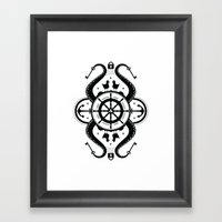 Secrets Of The Sea Framed Art Print