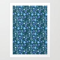 Floral Morning Art Print