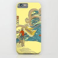 iPhone Cases featuring Traffic Monday by Huebucket