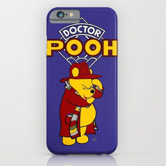 Doctor Pooh iPhone & iPod Case