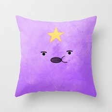Adventure Time - Lumpy Space Princess Throw Pillow