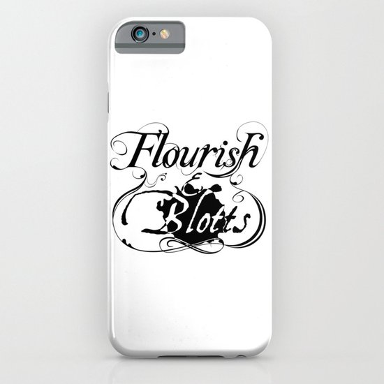 Flourish & Blotts of Diagon Alley iPhone & iPod Case