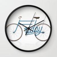 Lovely Friday Wall Clock