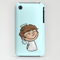 iPhone 3Gs & iPhone 3G Cases featuring Emoji Angel: Louis by Cyrilliart