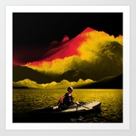 Art Print featuring Idyllic by Rendra Sy