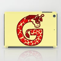 G Is For Giraffe iPad Case