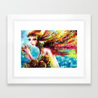 FATE Framed Art Print