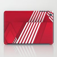 Optical Illusion_red iPad Case