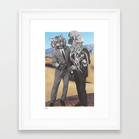 They Made Us Detectives (1979) Framed Art Print