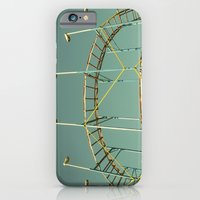 iPhone & iPod Case featuring rollercoaster by Bianca Green