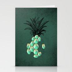 Pineapple Anatomy 3 Stationery Cards