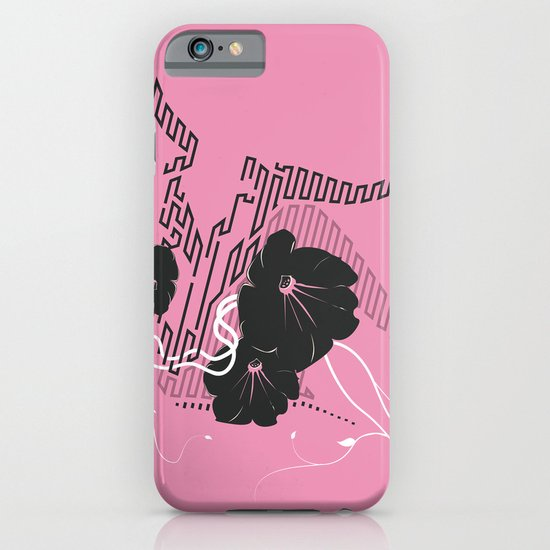 Untitled Art - Pink iPhone & iPod Case