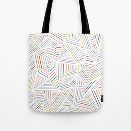 Tote Bag - Ab Linear Rainbowz - Project M