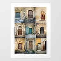 Nine Doors Art Print