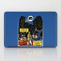 Fatman And Big Belly iPad Case